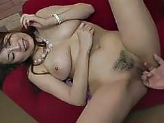 Serious porn show along busty Japanese Yuki Aida
